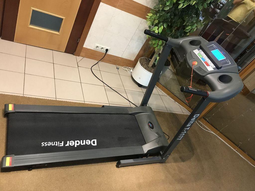 Замена ленты беговой дорожки Dender Fitness